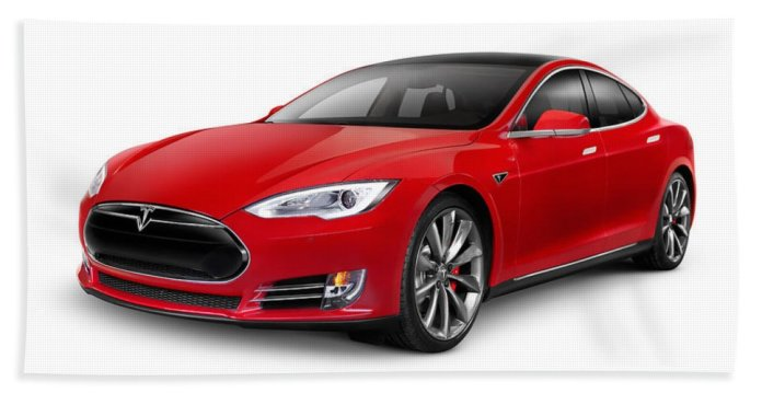 Image result for tesla red