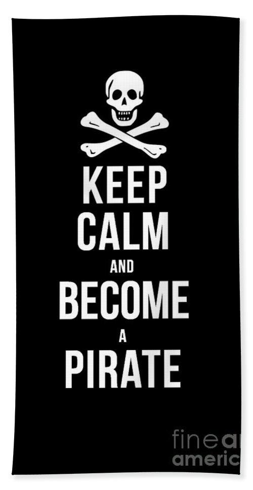 How To Become A Pirate : become, pirate, Become, Pirate, Beach, Towel, Edward, Fielding