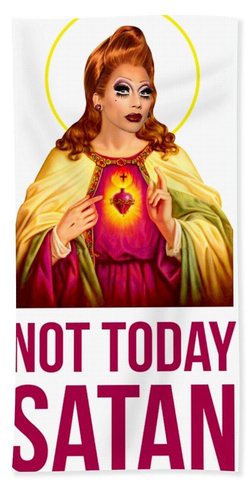 Bianca Del Rio Not Today Satan : bianca, today, satan, Bianca, Today, Satan, Beach, Sheet, Darven, Lefetiye