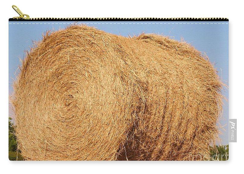 big hay bail carry