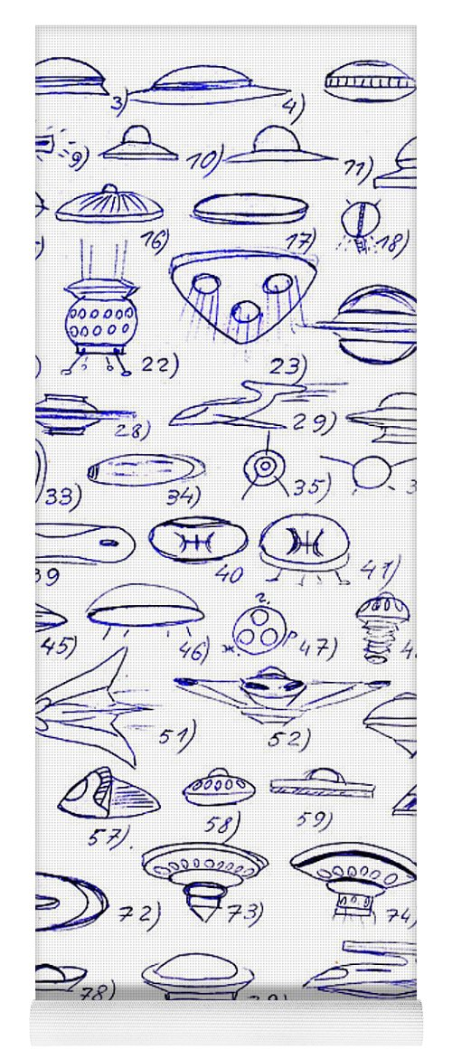 variety of ufo shapes