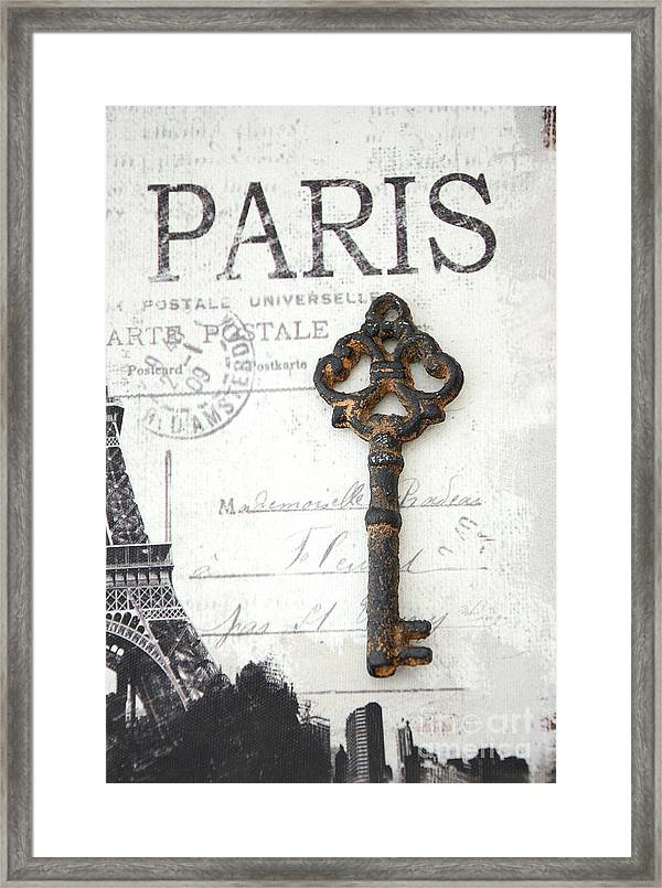 paris vintage key art