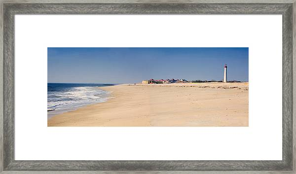 cape may beach panorama