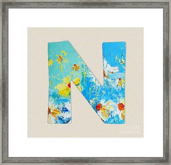 letter n roman alphabet