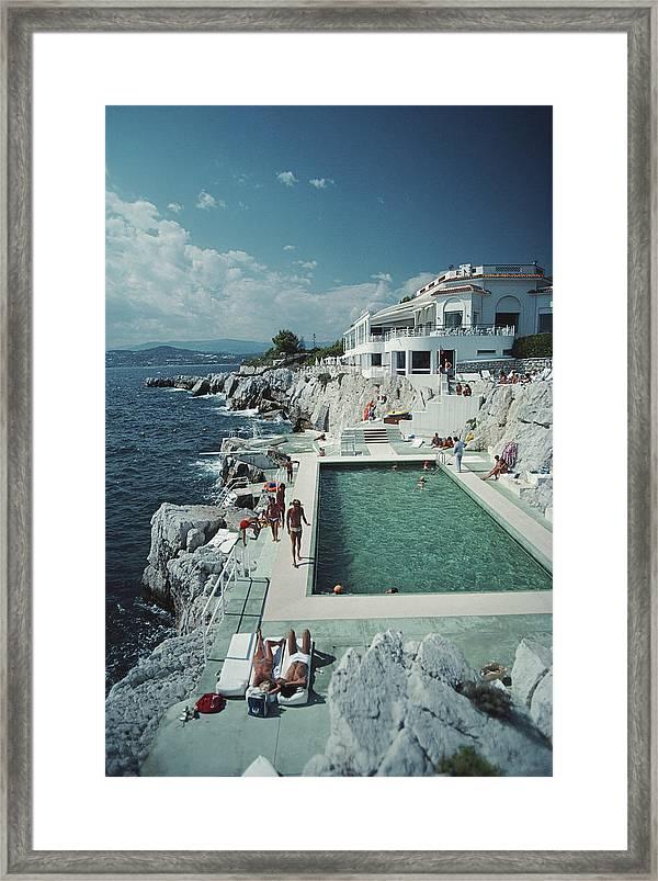 Hotel Du Cap Eden Roc : hotel, Hotel, Eden-roc, Framed, Print, Aarons