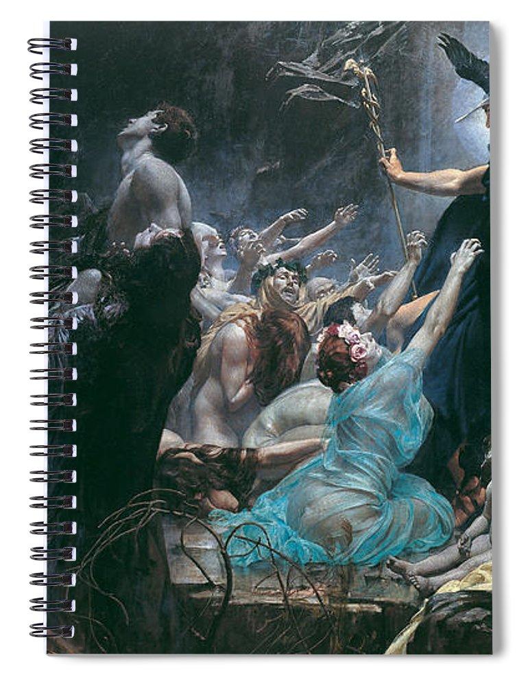 The Souls Of Acheron : souls, acheron, Souls, Acheron, Spiral, Notebook, Adolf, Hiremy-Hirschl