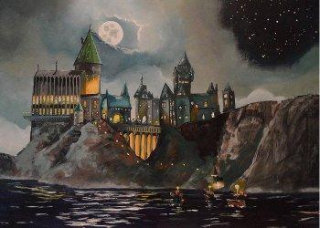 Fantasy Castle Art Fine Art America