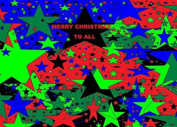 Merry Christmas To All 4 Greeting Card For Sale By Linda