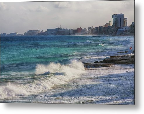 Atlantic Ocean In Cancun by Tatiana Travelways