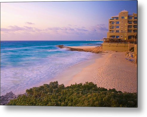 Cancun Beach At Sunrise by Tatiana Travelways