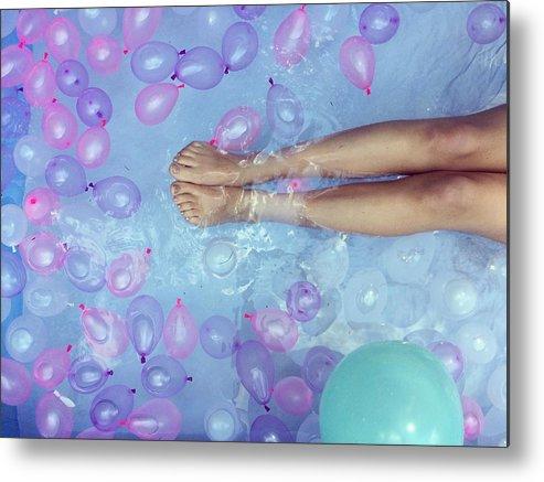 water balloons swimming pool