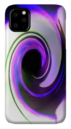 Abstract IPhone Case featuring the photograph Black Hole Colors by Holly Morris