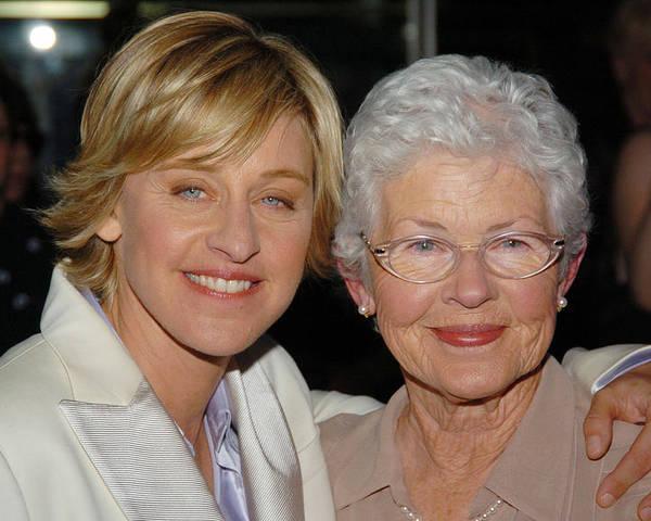 Resultado de imagen para Ellen DeGeneres mom