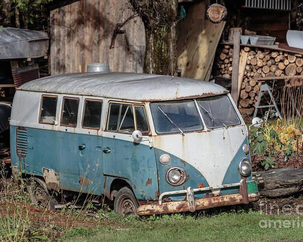 old vw hippy bus