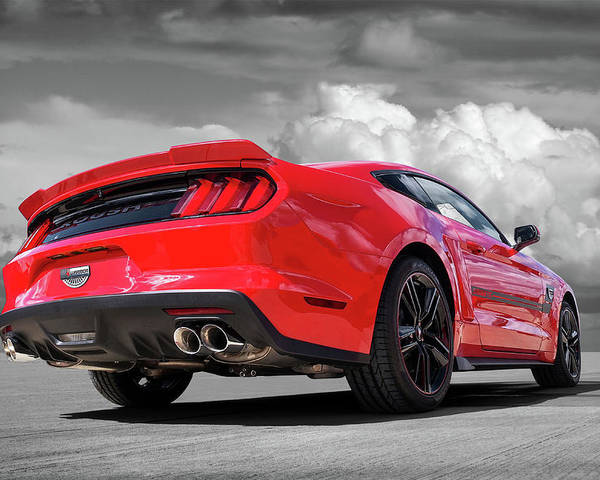 red roush warrior mustang