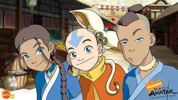 Characters from Avatar: The Last Airbender