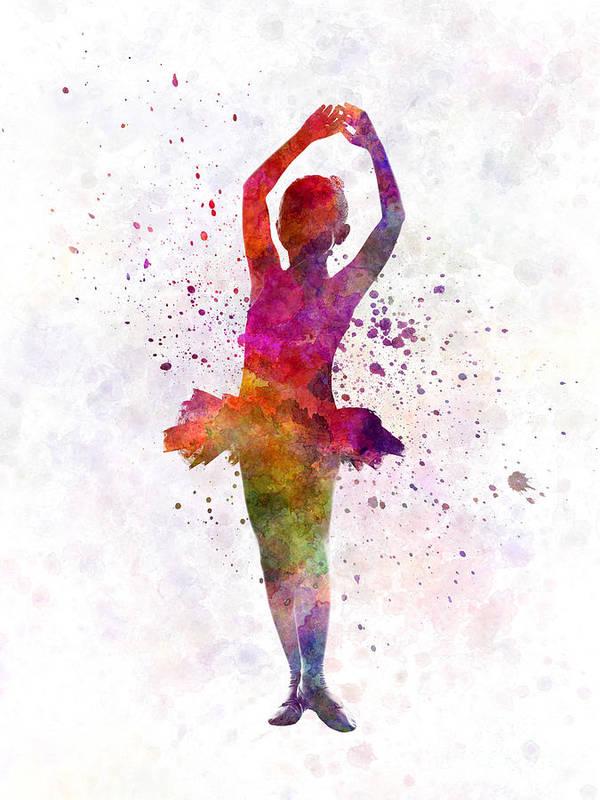 little girl ballerina ballet