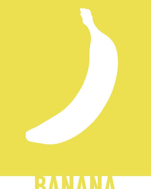 banana food art minimalist