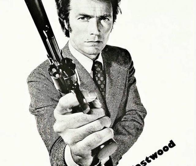 Clint Eastwood Poster Featuring The Mixed Media Dirty Harry Magnum Force Clint Eastwood By