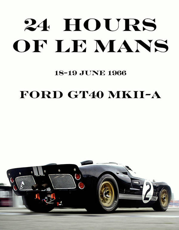 Ford Gt Poster : poster, HOURS, Poster, Thomas, Pollart