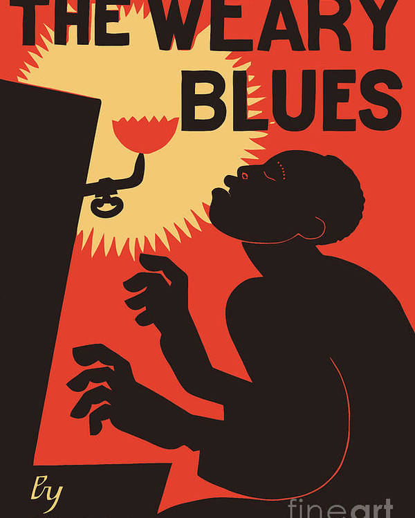 retro the weary blues
