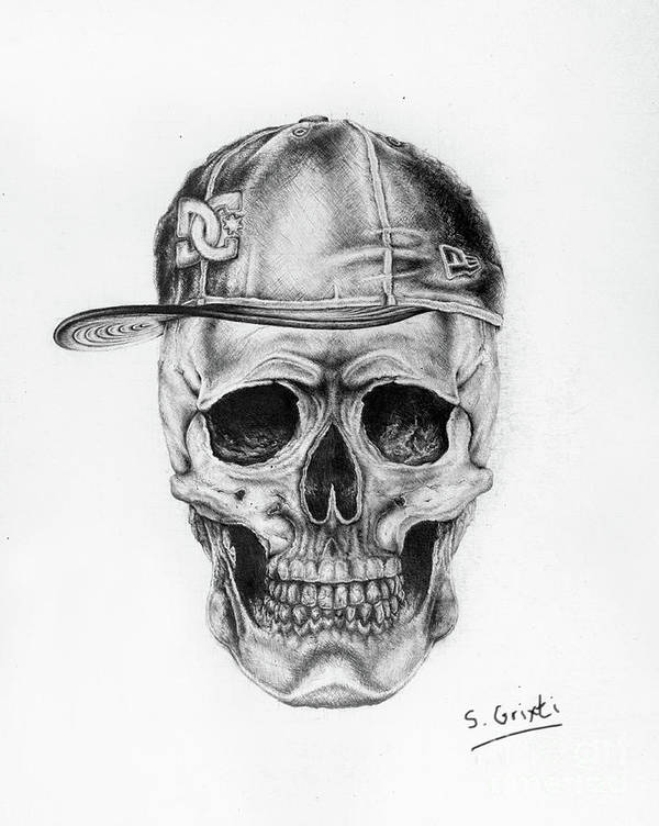the cool skull realistic