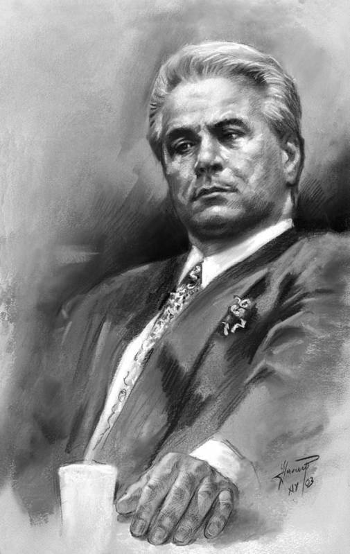 Al Capone Iphone Wallpaper John Gotti Art Print By Ylli Haruni
