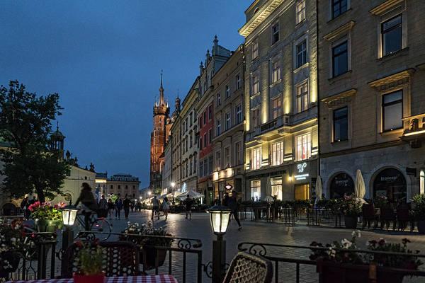Kraków Nights by Sharon Popek