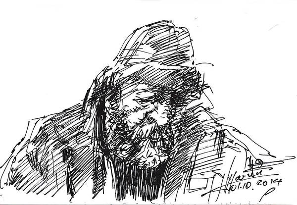 Homeless Drawings for Sale