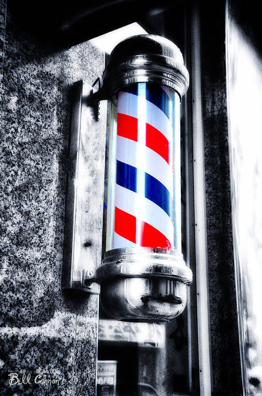Material Design Wallpaper Iphone X The Barber Pole Art Print By Bill Cannon