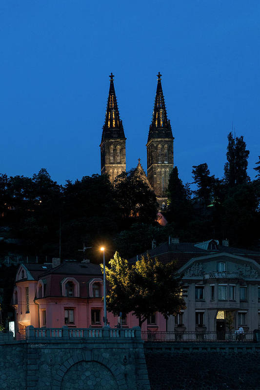 Church Spires by Sharon Popek