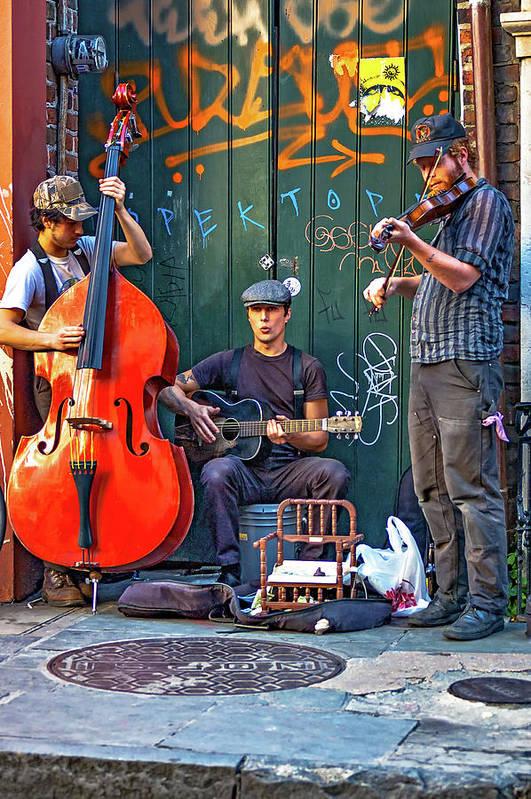 New Orleans Street Musicians by Steve Harrington