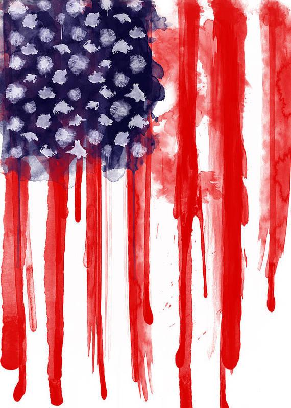 american flag watercolor paintings