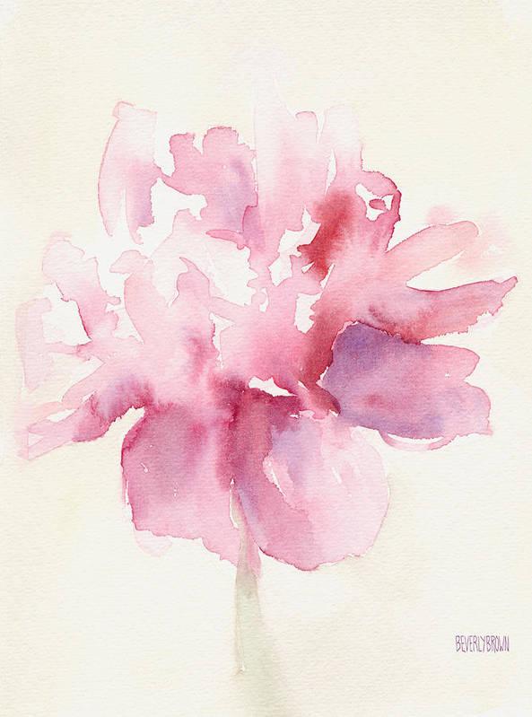 abstract flower art fine