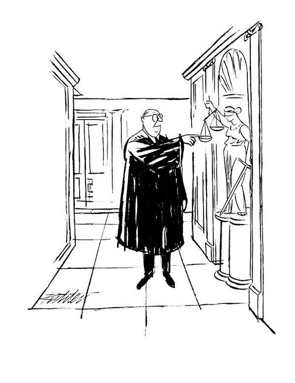 New Yorker November 9th, 1963 Art Print by Mischa Richter