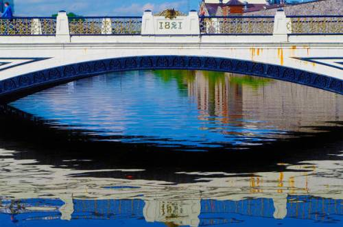 Seán Heuston Bridge by Sharon Popek