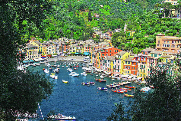 Portofino Art Print featuring the photograph Portofino, Italy by Richard Krebs