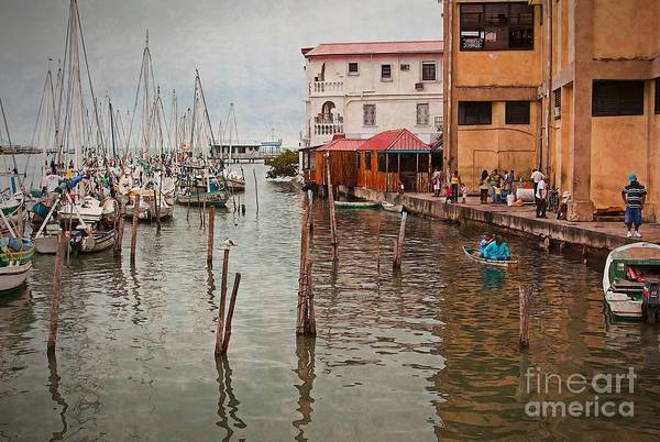 Belize City Harbor by Tatiana Travelways
