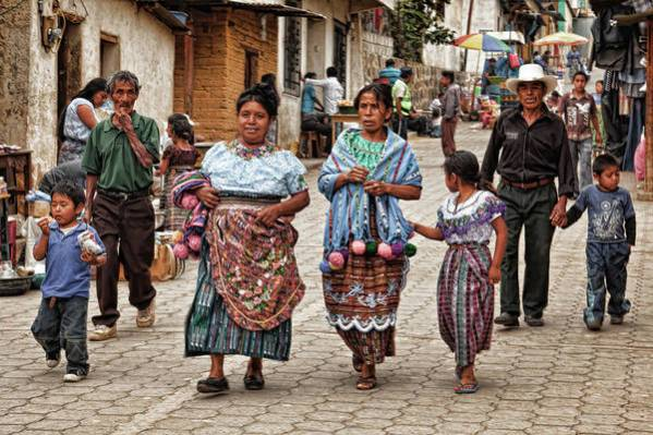 Guatemala Art Print featuring the photograph Sunday Morning In Guatemala by Tatiana Travelways