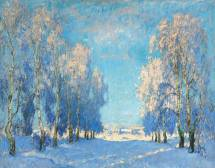 russian impressionism paintings