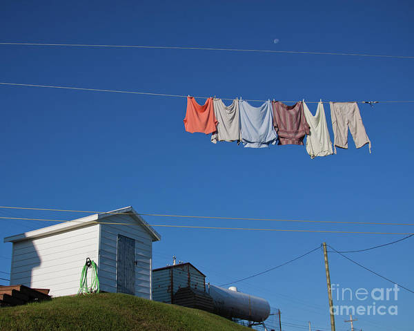 Quiet morning in Fogo Island, Newfoundland and laundry day by Tatiana Travelways