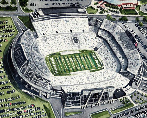 Penn State Beaver Stadium Whiteout Game University Psu Nittany