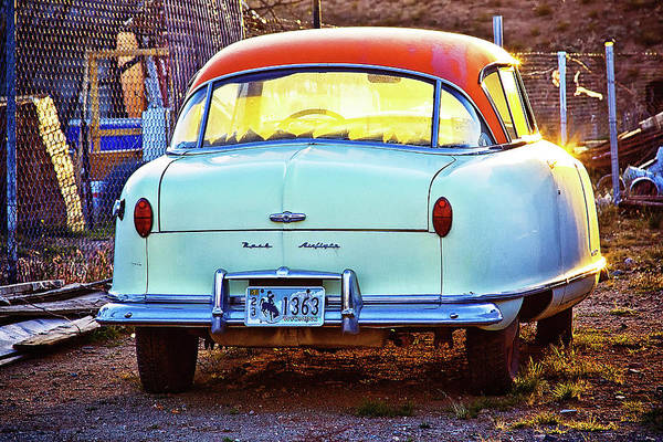 Classic Car Art Print featuring the photograph Backyard Jewell by Tatiana Travelways
