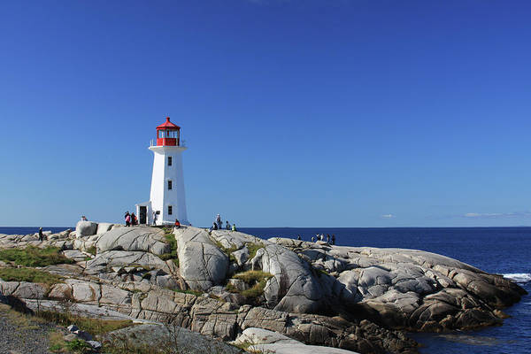 Peggy's Cove lighthouse at daytime
