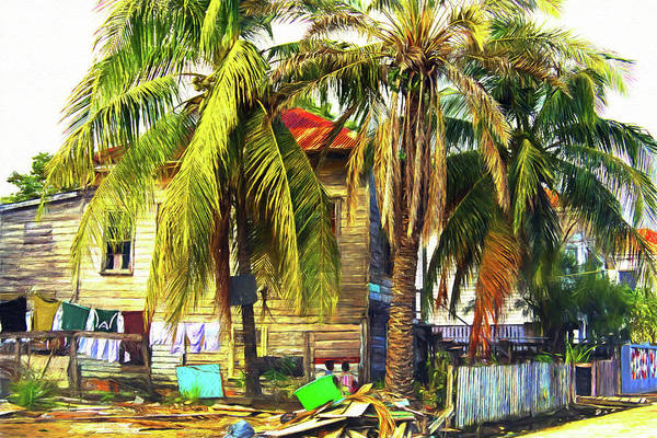 Belize City Art Print featuring the photograph Everything Is Beautiful In Its Own Way by Tatiana Travelways