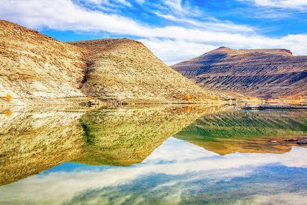 Flaming Gorge water reflections