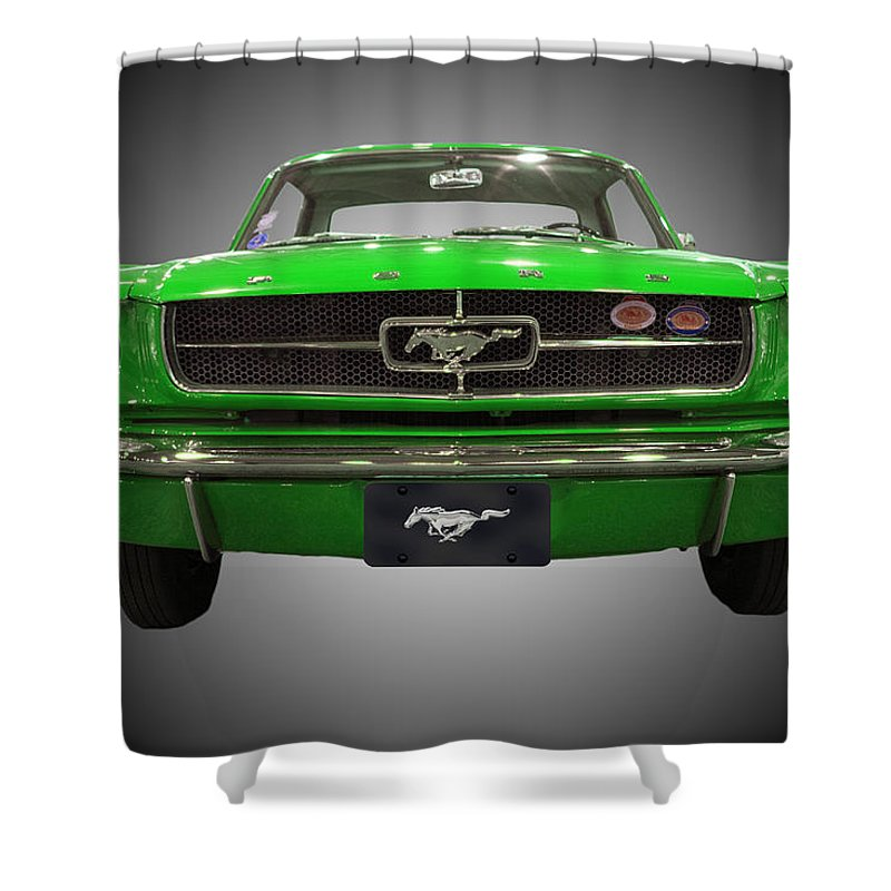 1964 Ford Mustang Shower Curtain Michael Porchik