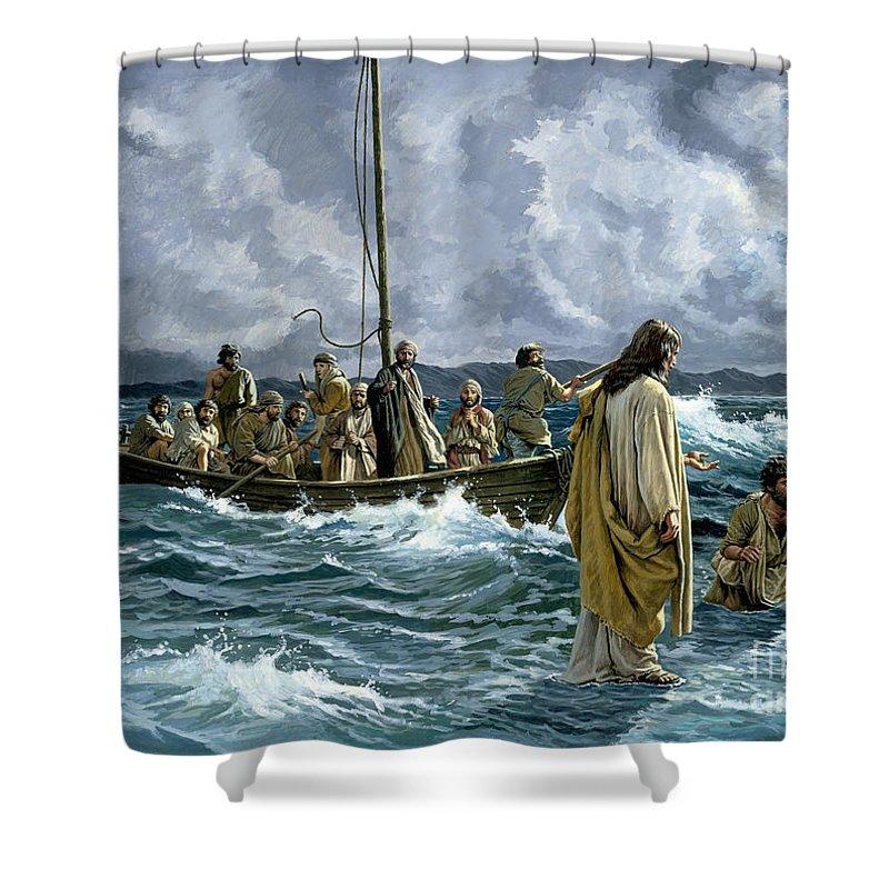 Religious Shower Curtains  Fine Art America