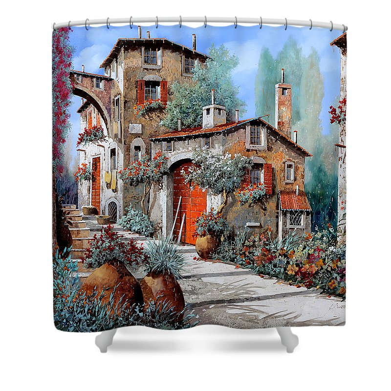 Italian Scene Shower Curtains Fine Art America