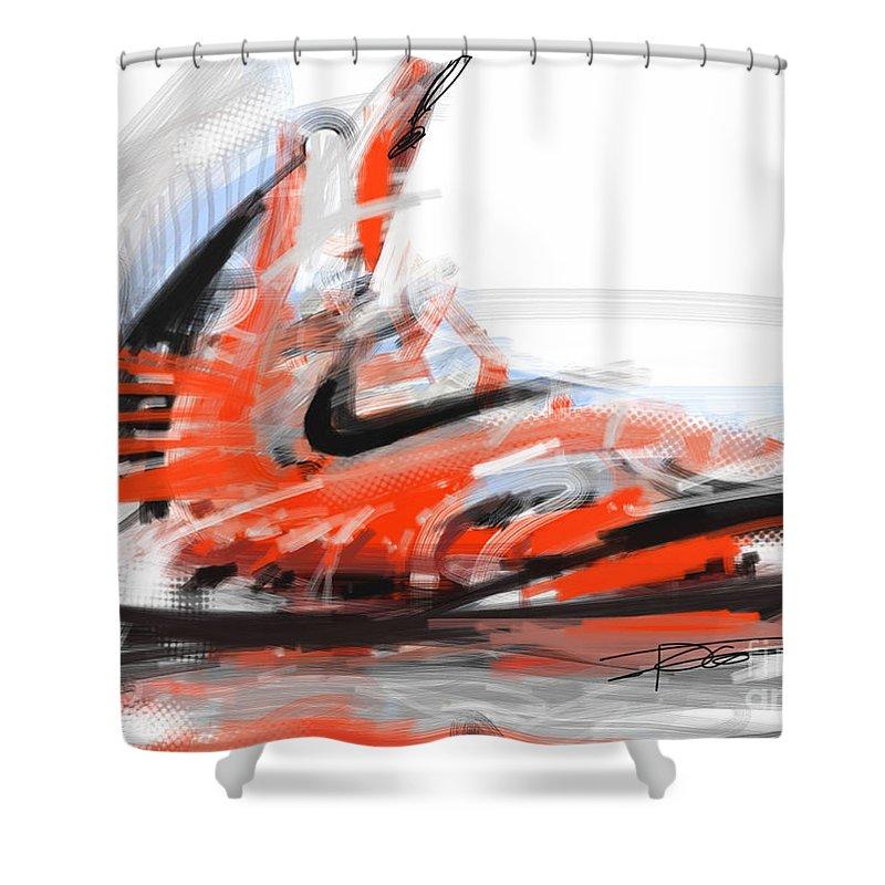 nike basketball shower curtain